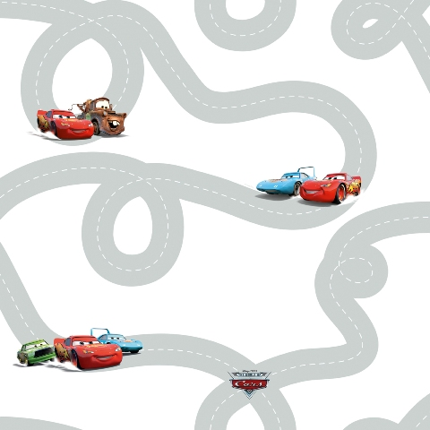 Tapet Disney Cars Roads