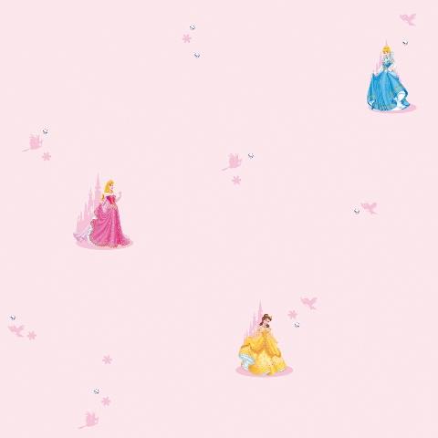 Tapet Dinsey Standing Princess